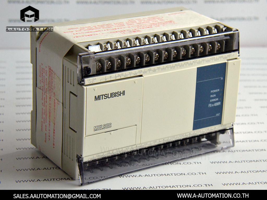 PLC MODEL:FX1N-40MR-DS [MITSUBISHI]