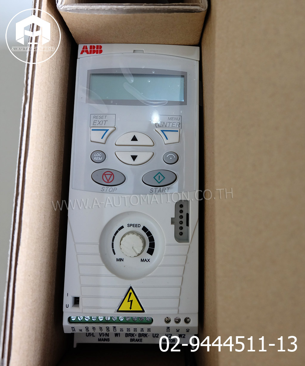 Inverter ABB Model:ACS150-03E-02A4-4 (สินค้าใหม่)