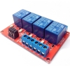 Relay Module 12V 4 Channel isolation High And Low Trigger 250V/10A