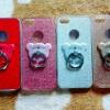 TPU กากเพชร (มีเเหวนตั้งได้) iphone5/5s/se