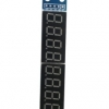 7-segment digital LED 8 digit display module can be cascaded finished MAX7219