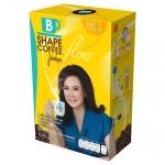 B Shape Coffee Flow by Jintara บีเชฟ คอฟฟี่ โฟร สูตรไฮไฟเบอร์ และถั่วขาว