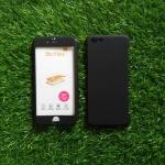 PC ประกบ360องศา+ฟิล์มกระจกสีดำ iphone6/6s