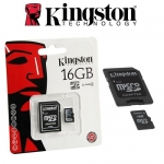 Micro SD Kington 16GB Class4