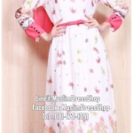 ☆ ✧ Floral Printed Chiffon Dress ✧ PINK
