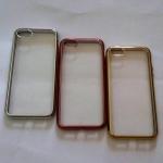 TPU ขอบโครเมี่ยม iphone5/5s/se