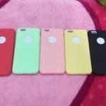 TPU สีทึบ 0.18 บางเฉียบ iphone6 plus/6s plus