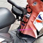 เบาะเด็ก เบาะนั่งเด็ก มอเตอร์ไซด์ YAMAHA TTX เบาะเสริม มีพนักพิงหลัง สามารถพับเก็บได้เมื่อไม่ใช้งาน งานหนา รับน้ำหนักได้ถึง 15 กิโลกรัม สินค้าตรงรุ่น ติดตั้งง่าย ไม่ต้องดัดแปลง ( child seat )