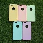 TPU สีทึบ 0.18 บางเฉียบ iphone6/6s