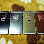 TPU โครเมี่ยมพร้อมแหวน iphone6 plus/6s plus