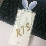 TPU หูกระต่าย พับหูตั้งได้สีใส Oppo R7s