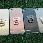 TPU โครเมี่ยมพร้อมแหวน Oppo F1s(A59)