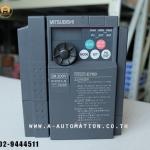 ขายinverter mitsubishi model:FR-E720-2.2K (สินค้าใหม่ไม่มีกล่อง)