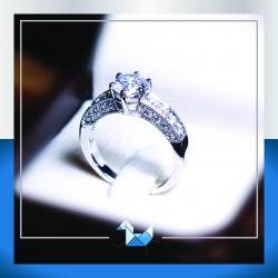RG1571 1.00 carat HS Vintage