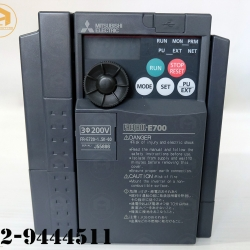 Inverter mitsubishi model:FR-E720-1.5K-60 (สินค้าใหม่)