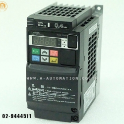 ขายINVERTER OMRON MODEL:3G3MX2-A2004-V1