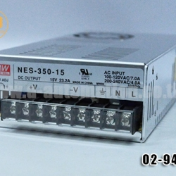 POWER SUPPLY MEAN WELL NES-350-15