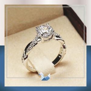 RG1536 1.00 carat Cute Twist