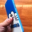 TPU ลายเส้นนูนแมวสีฟ้าตาโต R9s thumbnail 3
