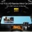 กล้องติดรถยนต์ Vehicle Blackbox DVR Full HD 1080P รูปทรงกระจกมองหลัง พร้อมกล้องถอยหลัง สีดำ thumbnail 1
