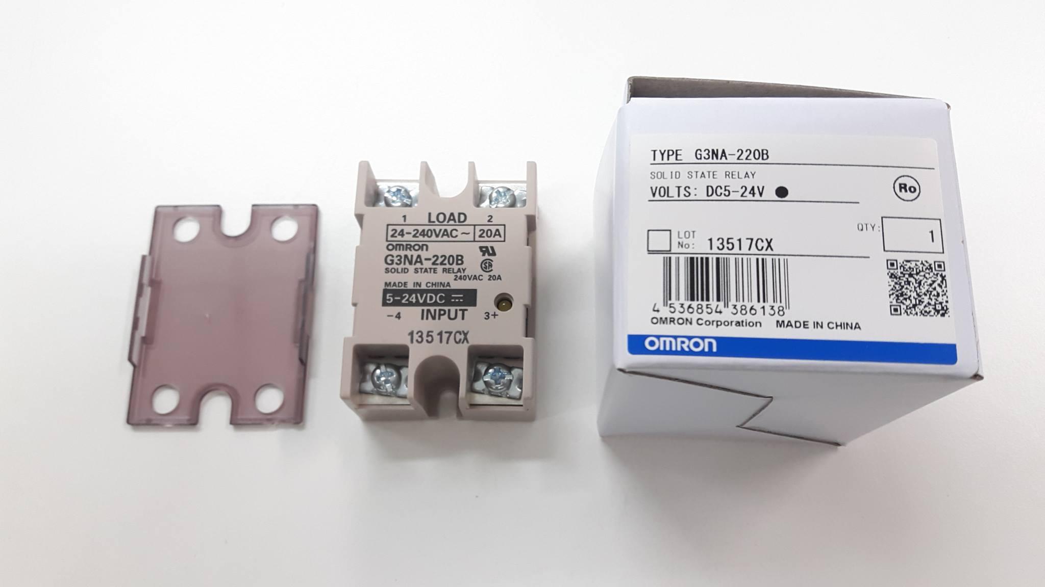 G3NA-210B-UTU Relay solid state OMRON BOX OF 10