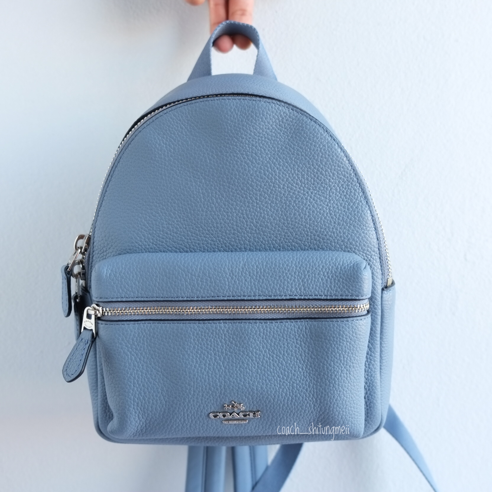 unique style choose authentic latest discount พร้อมส่ง COACH F38263 MINI CHARLIE BACKPACK - Dusk