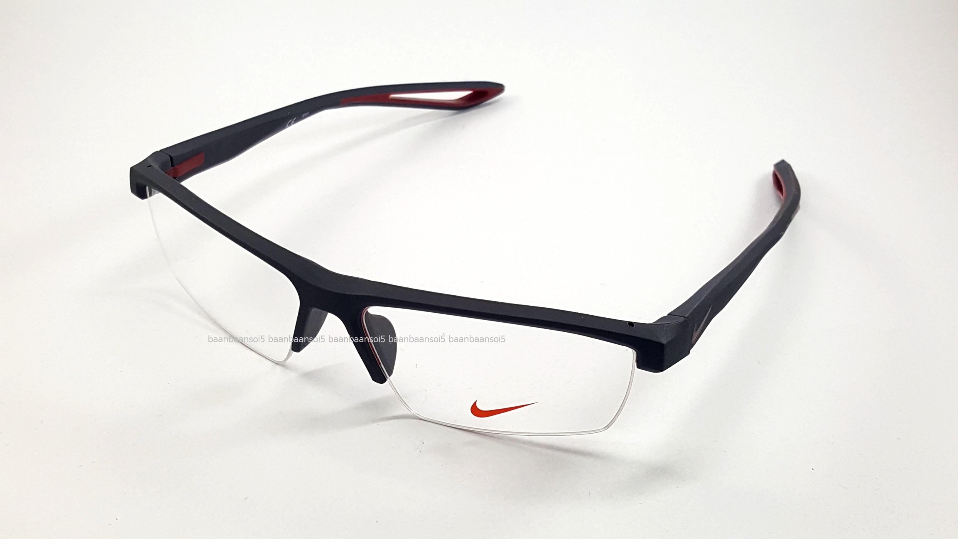 NIKE BRAND ORIGINALแท้ Flexon 7079 020 กรอบแว่นตาพร้อมเลนส์ มัลติโค๊ตHOYA  ป้องกัน f827c3cc0710e