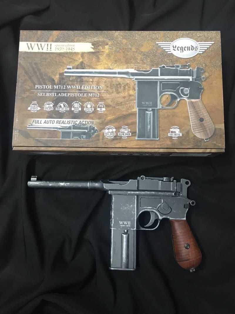 Umarex WWII Limited Edition M712 CO2 Pistol (Black) ราคาพิเศษ - ฺ